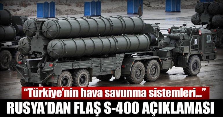 Son dakika Haberi: Rusya'dan flaş S-400 açıklaması! Türkiye'yi...