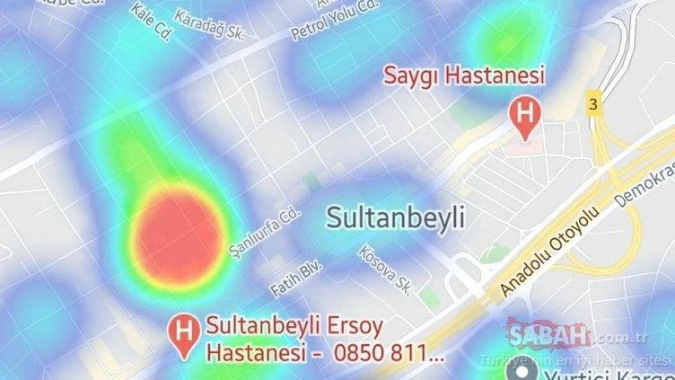 İstanbul'un HES haritası güncellendi! İşte İstanbul'da ilçe ilçe corona haritası