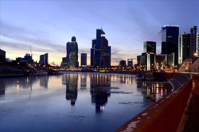 Moskova Nehri buz tuttu