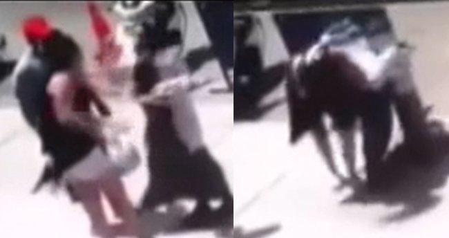 İstanbul'da şişeli saldırı: 'Ekmek düştü' diyerek...