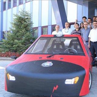 KSÜ öğrencilerinin otomobiline TÜBİTAK'tan ödül