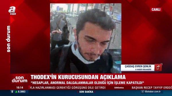 SON DAKİKA: Thodex kurucusu Faruk Fatih Özer'den flaş 'kaçmadım' açıklaması