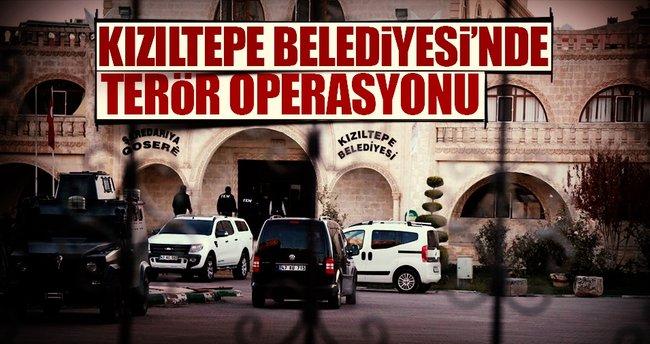 Kızıltepe Belediyesi'ne operasyon
