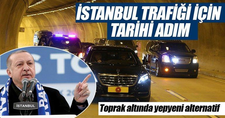 İstanbul trafiği için hayati adım