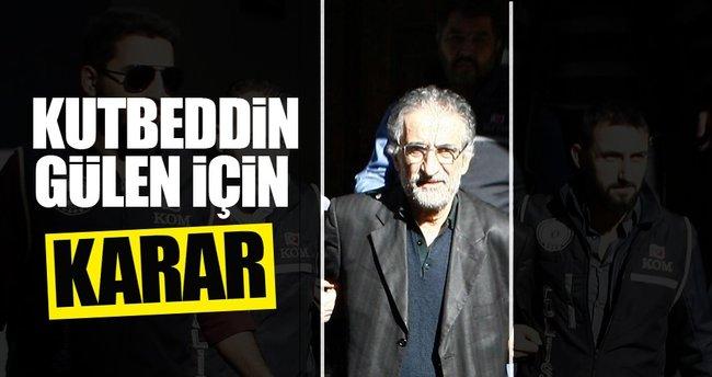Gülen'in kardeşi Kutbeddin Gülen tutuklandı