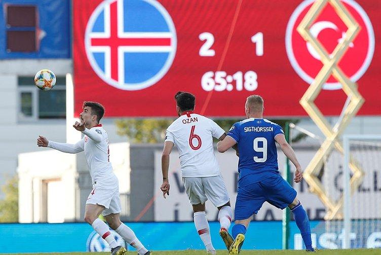 A Milli Takım'da Abdülkadir Ömür isyanı! İzlanda karşısında neden ilk 11 oynamadı?