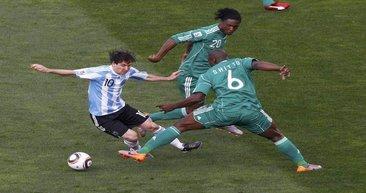 Arjantin - Nijerya karşılaşması