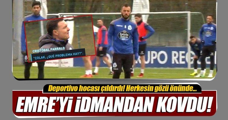 Emre Çolak, Deportivo idmanından kovuldu!