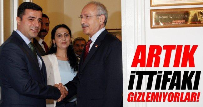 HDP ve CHP ittifakı gizlemiyor