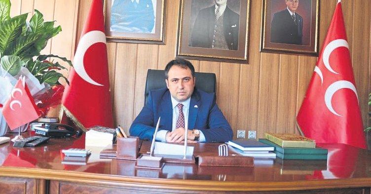 MHP'de Aksoy adaylığını açıkladı