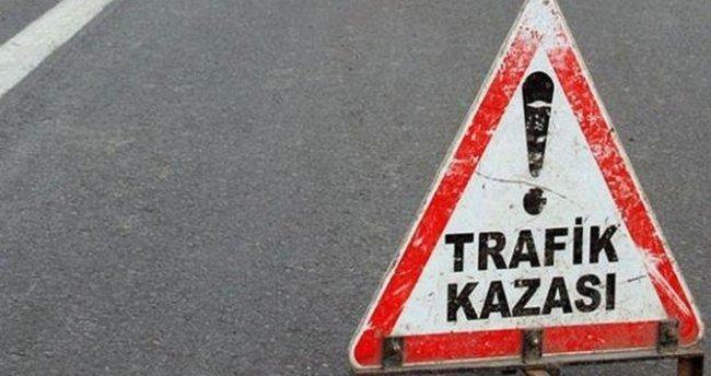 Bayburt'ta trafik kazası: 3 ölü, 5 yaralı
