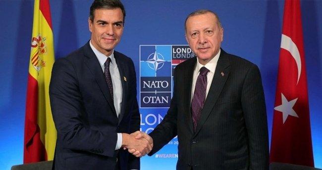 Son dakika: Erdoğan, İspanya Başbakanı Pedro Sanchez ile video konferans görüşmesi gerçekleştirdi - Son Dakika Haberler
