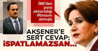 Akşener'in Okçular Vakfı iddialarına sert cevap: İspatla!