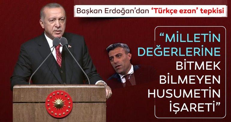 Külliye'de 10 Kasım Atatürk'ü anma programı! Başkan Erdoğan'dan önemli açıklamalar