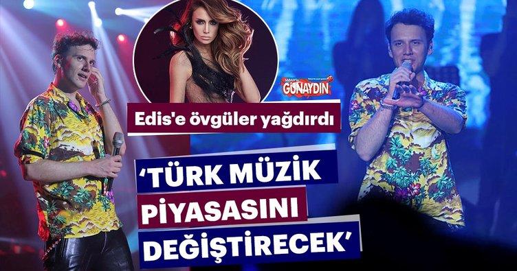 Emina Jahoviç 'Edis, Türk müzik piyasasını değiştirecek'