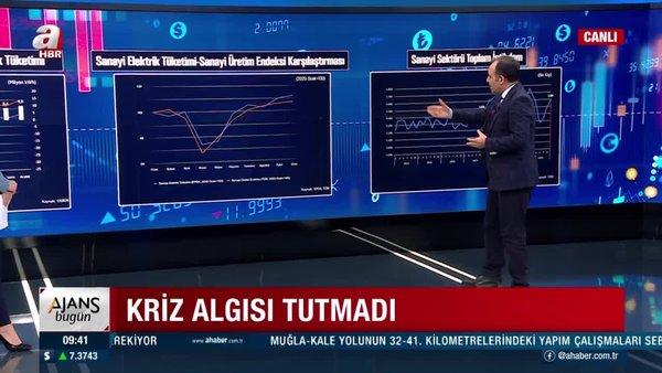 Ekonomiye kara propaganda saldırısı tutmadı! Üretim de elektrik tüketimi de arttı | Video
