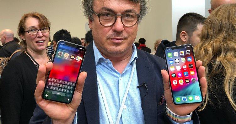 Dünyanın beklediği yeni 2018 iPhone'lar tanıtıldı!...