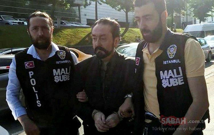 Adnan Oktar'a gözaltı! İşte ilk fotoğraflar