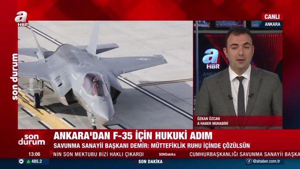 Savunma Sanayii Başkanı İsmail Demir'den F-35 açıklaması: ABD'nin son mektubu bizi haklı çıkardı | Video