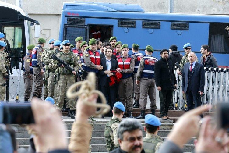Kahraman şehit Halisdemir'in katilleri yargılanıyor