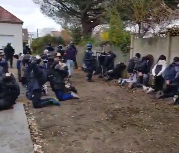 Skandal görüntüler Fransa'yı ayağa kaldırdı!