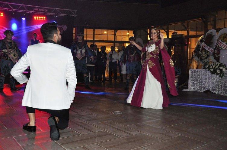 Çağlayan Topaloğlu'nun düğününden kareler