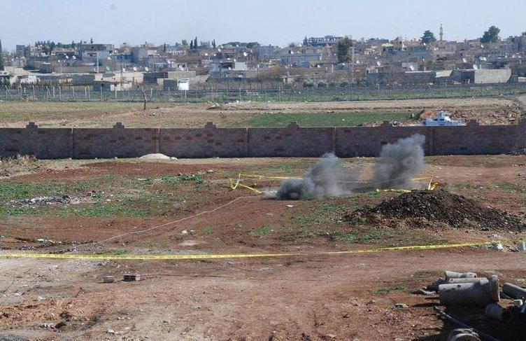 Ceylanpınar'a patlamamış roket mermileri düştü
