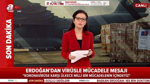Başkan Erdoğan'dan virüse karşı mücadele  mesajı