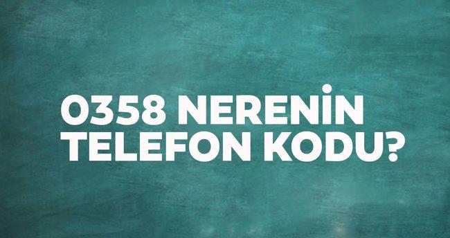 358 Nerenin Kodu? – 0358 Telefon Numarası Alan Kodu Neresi Hangi Şehir?