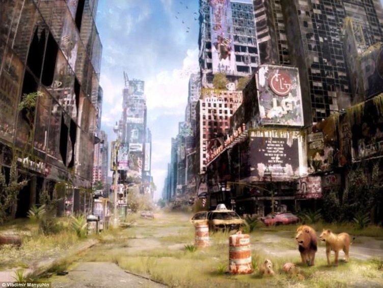 Kıyametten sonra New York