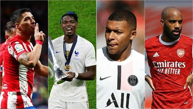 Son dakika: Dünya yıldızları 2022'de boşta kalacak! Listede Süper Lig'den tanıdık yüzler var... İşte o isimler