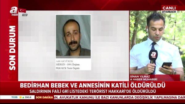 Bedirhan bebek ve annesinin kanı yerde kalmadı! Hain PKK'lı terörist öldü!   Video