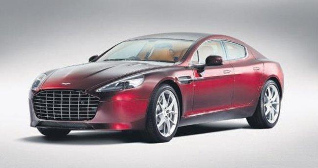 Aston Martin Rapide S yok sattı