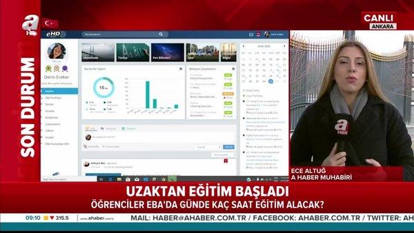 TRT EBA TV canlı yayın uzaktan eğitim dersleri nasıl izlenir? Günde kaç saat eğitim verilecek? | Video