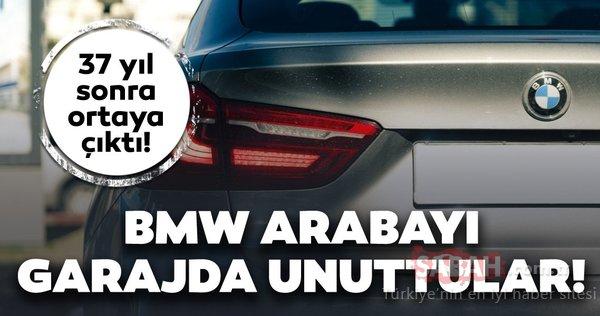 Bu nadir BMW modeli 37 yıl boyunca garajda unutuldu! Sadece 453 adet üretilmişti