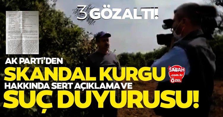 AK Parti'den CHP'nin 'limon kumpası' yalanına suç duyurusu! 3 kişi gözaltında