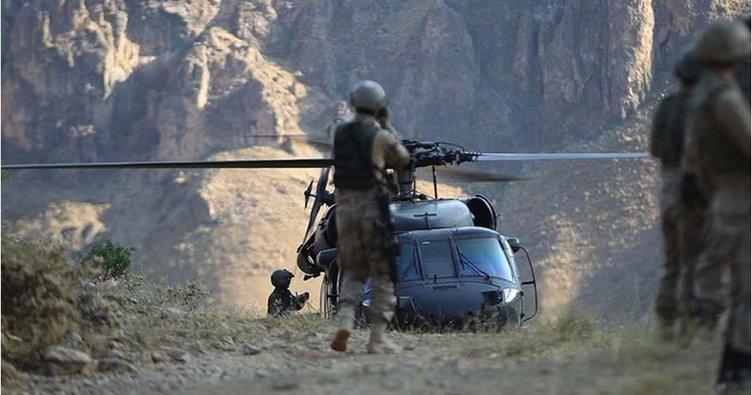 Gara'ya hava operasyonu 8 terörist etkisiz