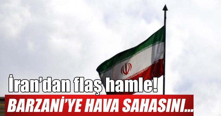 İran Kuzey Irak'a hava sahasını kapattı!
