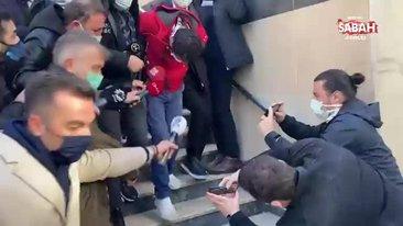 Aylin Sözer'i öldüren zanlısı Kadir D. adliyeye sevk edildi | Video