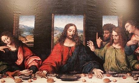 Son Akşam Yemeği tablosunun sırrı