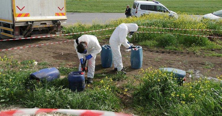 Varillerde kimyasal zehirli atık tehlikesi