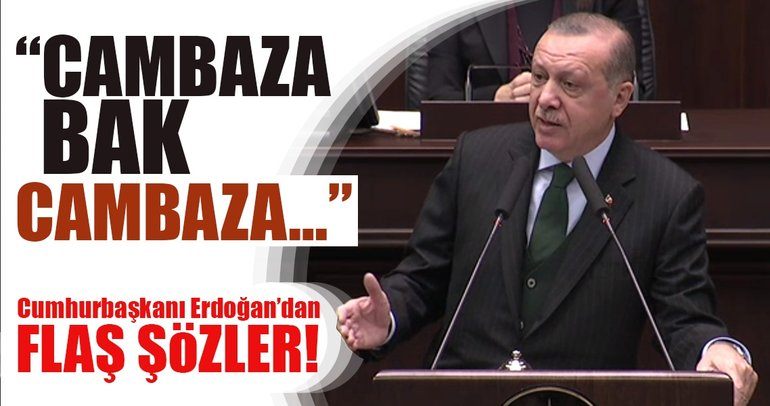Cumhurbaşkanı Erdoğan'dan grup toplantısında flaş sözler