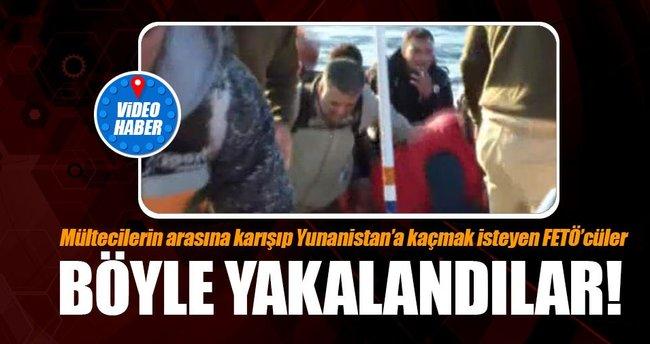 Lastik botla Yunanistan'a kaçmaya çalışan 3  FETÖ/PDY üyesi böyle yakalandı