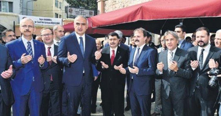 Cihangir Camisi 3 yıl aradan sonra ibadete açıldı