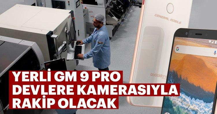 Yerli GM 9 Pro devlere kamerasıyla rakip olacak