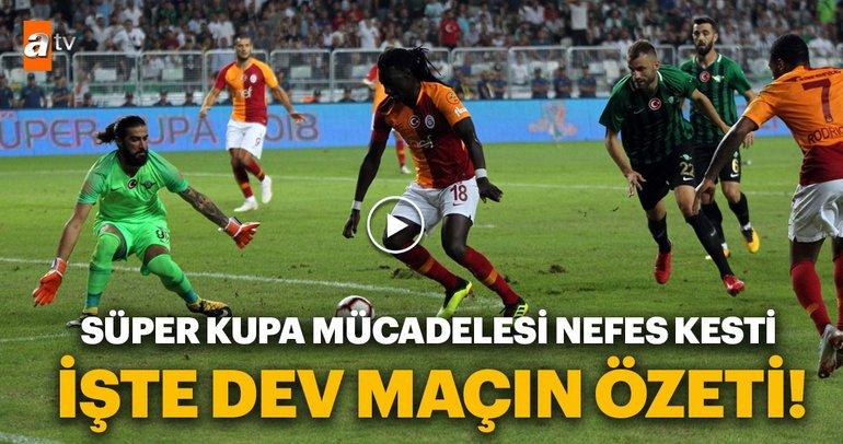 Galatasaray - Akhisarspor maçının özeti