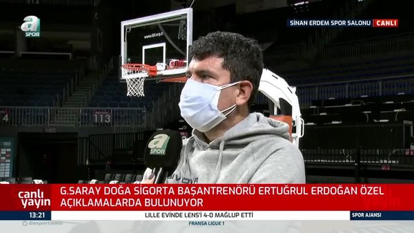 Ertuğrul Erdoğan: Sancılı bir dönemden geçiyoruz takım olmak...