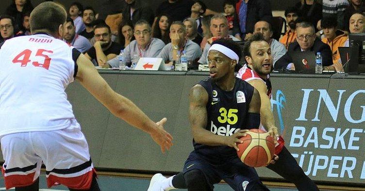 MAÇ SONUCU  Gaziantep Basketbol 81 - 70 Fenerbahçe Beko
