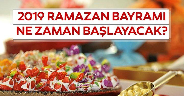 Ramazan Bayramı ne zaman kutlanacak? 2019 Ramazan Bayramı tatili kaç gün olacak? 9 gün ayrıntısı