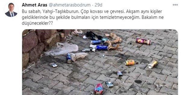 Son dakika: Bodrum Belediye Başkanı Ahmet Aras hakkında suç duyurusu - Son  Dakika Haberler